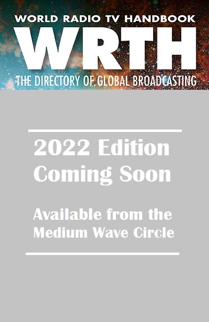 World Radio TV Handbook 2022 - WRTH 2022 dummy cover image